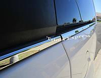 Хромовые накладки молдинги на двери под окна Jeep Grand Cherokee 1999-04 новые