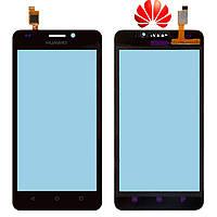 Touchscreen (сенсорный экран) для Huawei Ascend Y635, оригинал (черный)