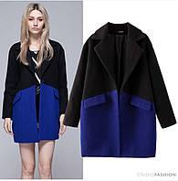 Кашемировое пальто 2-х цветное