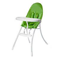 "Cтульчик для кормления «Bloom» ""Nano"", цвет ""Matt White"", вкладыш ""Gala Green""(E10502-WGG-11-BKS)"