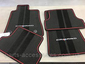 Chevrolet Camaro 2016-17 коврики велюровые передние задние Premium новые оригинальные
