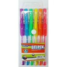 Набір кольорових гелевих ручок Неон