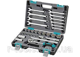 Набор инструментов 1/2 CrV пластиковый кейс 31 предметов STELS 14102