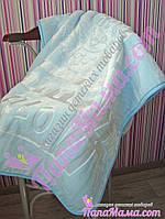 Мягкое теплое одеяло - плед для новорожденных