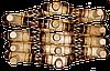 Деревянная вешалка большая