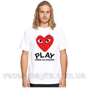 Футболка Comme Des Garçons Play 3
