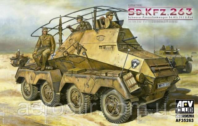 PANZERFUNKWAGEN Sd.Kfz 263. 8 RAD 1/35 AFV 35263