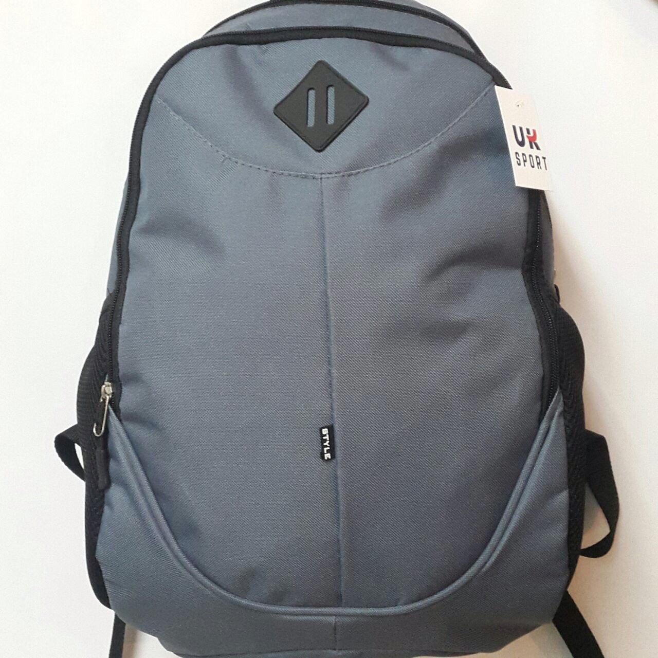 Рюкзак молодежный Ромб UKsport, Укрспорт серый ( код: IBR037S )