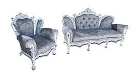 Набор мебели Элия (с доп. резьбой) (3+1)