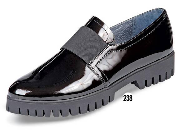 Туфли женские кожаные лаковые МИДА 21615 черные., фото 2