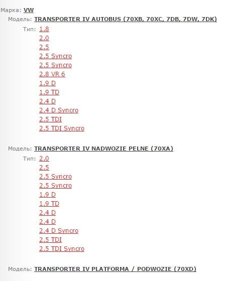 Размер дисков на транспортер т4 вариатор для транспортер