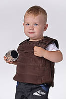 Детские жилетки-унисекс (р.98-134) броник