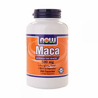 Now Maca 500 mg 250 caps