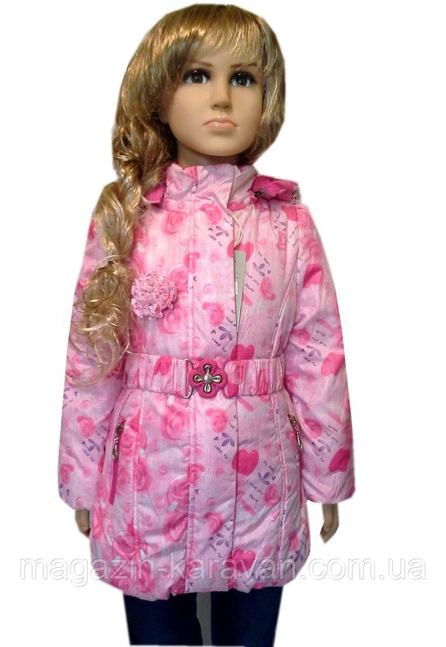 Куртка для девочки креативная