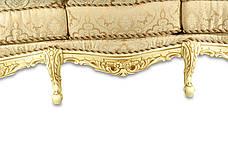 """Кожаный диван в стиле барокко """"Mila"""" (Мила), фото 2"""
