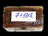 Шкатулка 7х13 (орех), фото 7