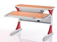 Детская парта растишка стол трансформер Mealux Harvard BD-333 BG/R - box