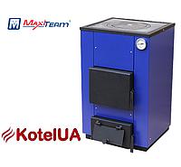 Твердотопливный котел MaxiTerm 12 кВт, варочная плита