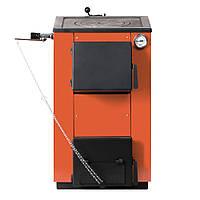 Твердотопливный котел MaxiTerm 14П кВт. Котел твердотопливный с плитой. Котлы на твердом топливе.