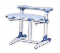 Детская парта растишка стол трансформер Mealux Milan BD-306 WB blue