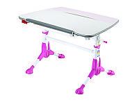 Детская парта растишка стол трансформер Mealux Pegas BD-108 PN