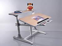 Детская парта растишка стол трансформер Mealux Shubert BD-405 maple