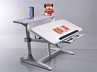 Детская парта растишка стол трансформер Mealux Shubert BD-405 white