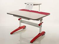 Детская парта растишка стол трансформер Mealux Ferrari BD-150 F + полка BD-S50 (береза)