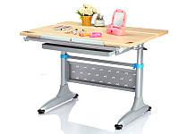 Детская парта растишка стол трансформер Mealux Miki 2 TH-349 maple