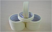 Малярный скотч (малярная лента) 19mm x 25m, температурная устойчивость 100°С, толщина 150 микрон