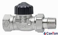 """Термостатический клапан проходной Heimeier Standart 1/2""""НР-ВР"""