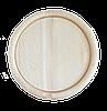 Тарілка з округлим буртиком 25см