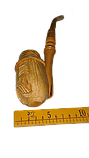 Люлька з точеним мундштуком 2, фото 8