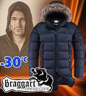Куртка с капюшоном мужская