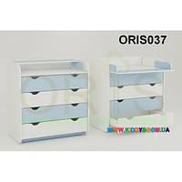 Комод-пеленатор Colour на 4 ящика Oris-mebel ORIS037
