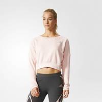 Джемпер для бега женский adidas Aktiv Cozy Pullover AX5892