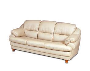 Розкладний шкіряний диван Sara, розкладний диван, м'який диван, меблі з шкіри, диван, фото 2