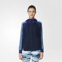 Женская толстовка adidas Essentials 3-Stripes Hoodie AY4804