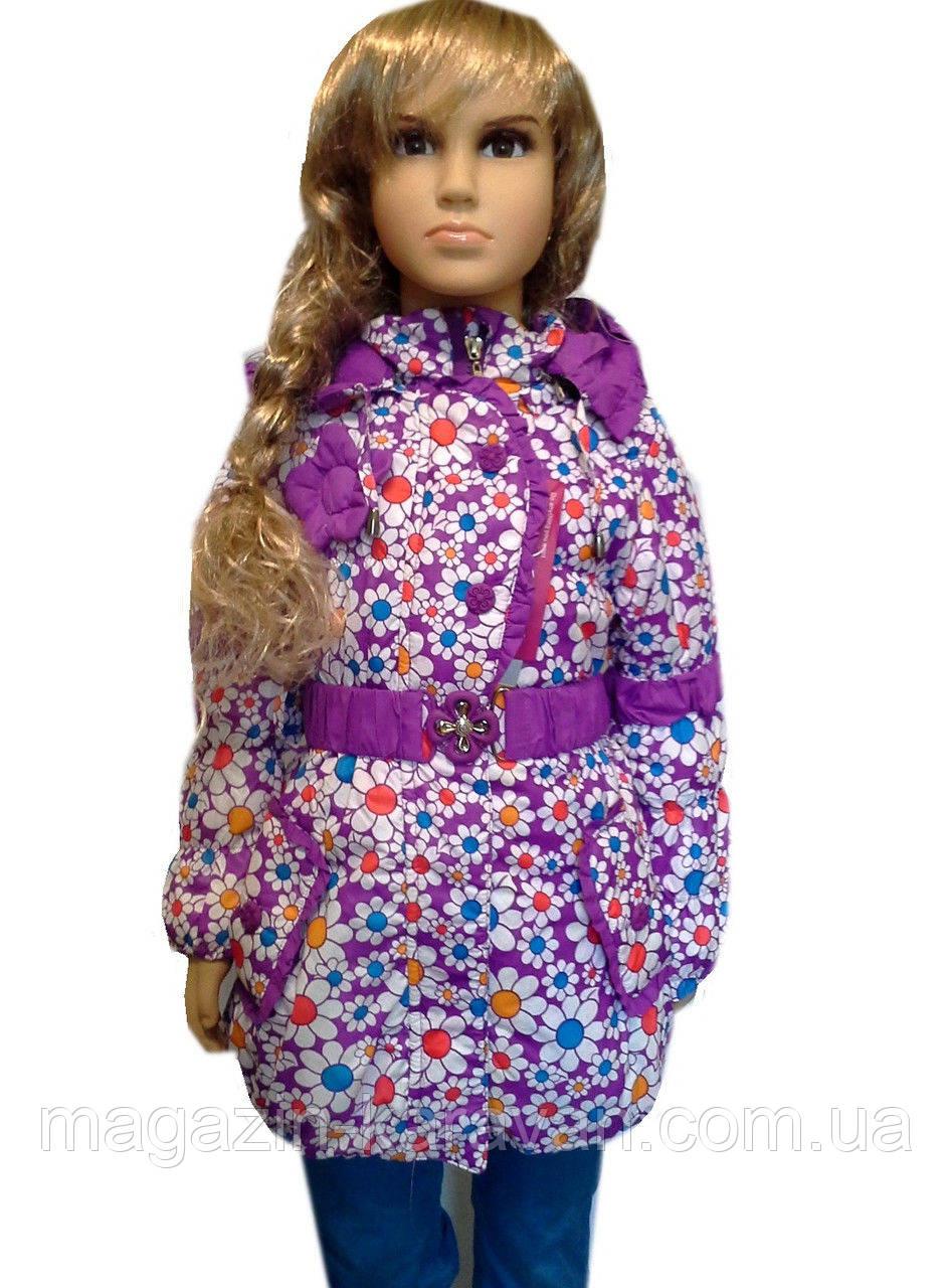 Демисезонная красивая курточка на девочку