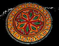 Тарелка расписная 10см, фото 1