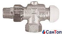 Термостатический клапан ГЕРЦ-TS-90 угловой специальный 1/2