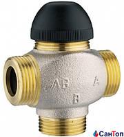 Клапан термостатический трехходовой Herz 7762 H для смешения или распределения  DN 15 (3/4) KVs 4