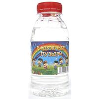 Жидкость для генератора мыльных пузырей РАДУЖНЫЕ  ПУЗЫРИ 300ml