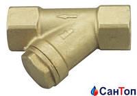 """Фильтр грязеуловитель HERZ 2662  водяной (размер ячейки 0.5 мм) DN20 (3/4"""")"""