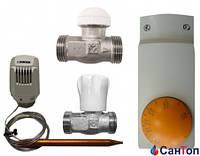 Набор  Herz для напольного отопления для помещений площадью до 45 м²