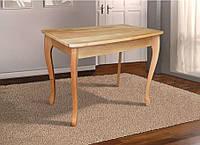 Стол деревянный обеденный Смарт массив ольха цвет натуральный