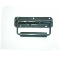 Ручка накладная подпруж.  для корпуса АС BIG PT002 метал маленькая наружная