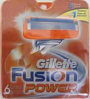 Картриджі Gillette Fusion Power, 6 Cartridges, фото 1