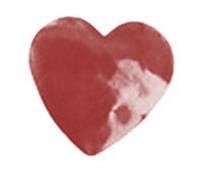 """Конфетти бумажное, """"сердце"""", 1 кг"""