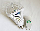 Большая светодиодная Диско-лампа LED Full Color rotating lamp, E27, фото 3
